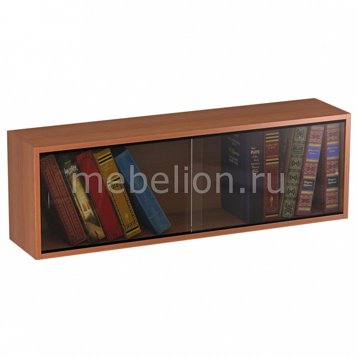 Полка книжная ПКС-1 вишня mebelion.ru 1800.000