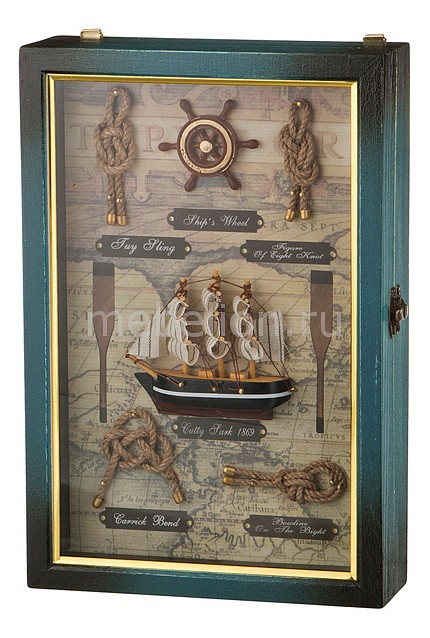 Ключница АРТИ-М (20х30 см) Парусник 271-131 стоимость
