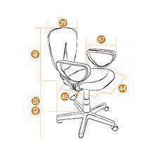 Кресло компьютерное СН413