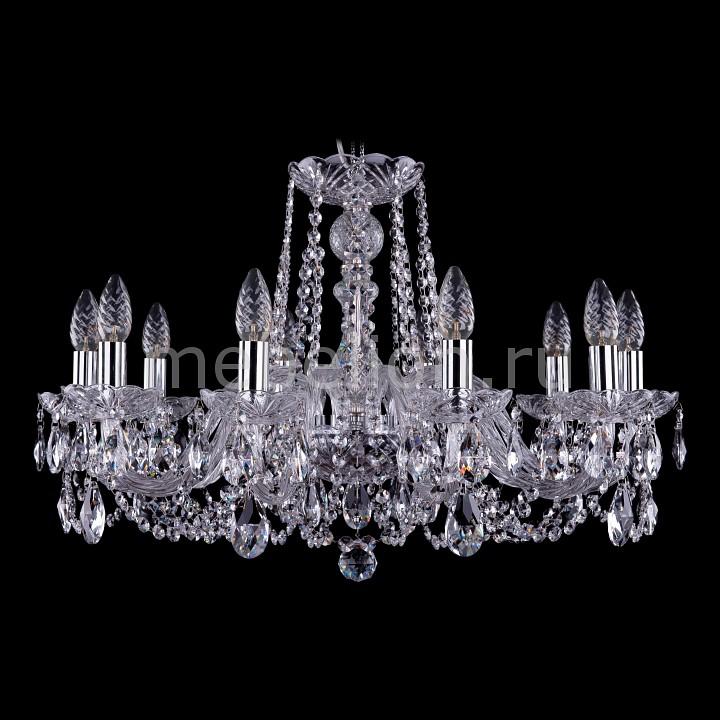 Подвесная люстра Bohemia Ivele Crystal 1402/10/240/Ni 1402