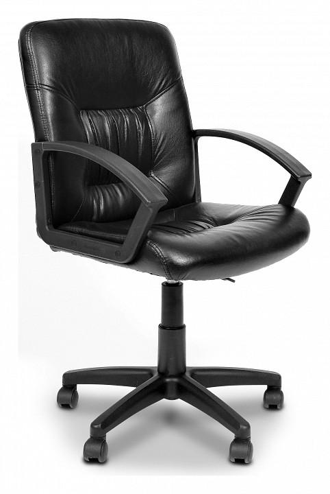 Кресло компьютерное Chairman 651 черный/черный  тумбочка со стеклянными дверцами