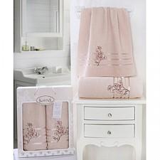 Набор полотенец для ванной Karna Набор из 2 полотенец для ванной PAPILON