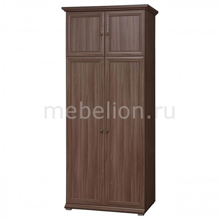 Шкаф платяной Тифани-1 ясень шимо темный