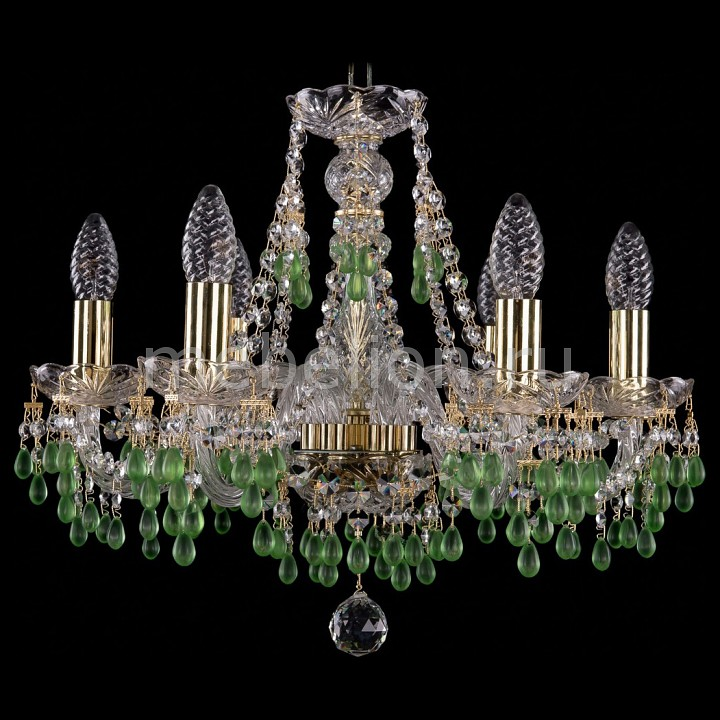 Подвесная люстра Bohemia Ivele Crystal 1410/6/160/G/V5001 1410