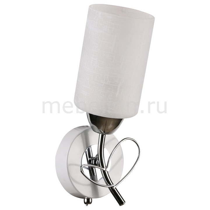Бра IDLamp 841 841/1A-Whitechrome idlamp светильник потолочный 818 8pf whitechrome