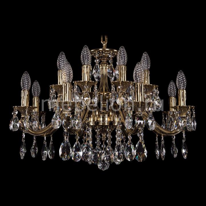 Подвесная люстра Bohemia Ivele Crystal 1703/16/225/A/GB 1703