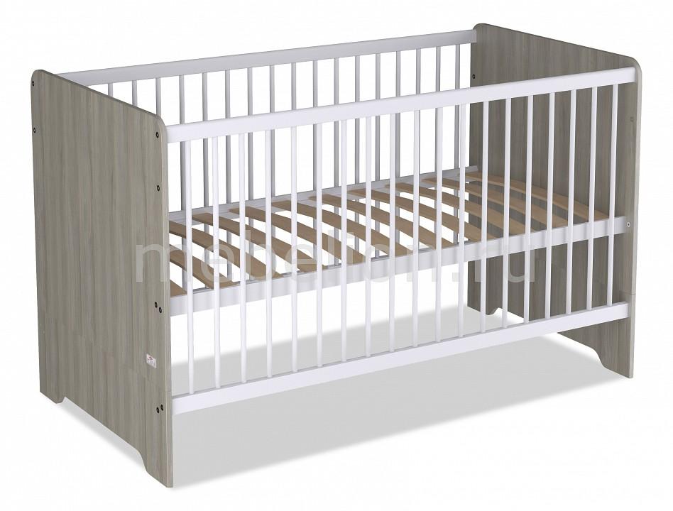 Кроватка Polini Polini Simple Nordic полка книжная polini polini simple nordic