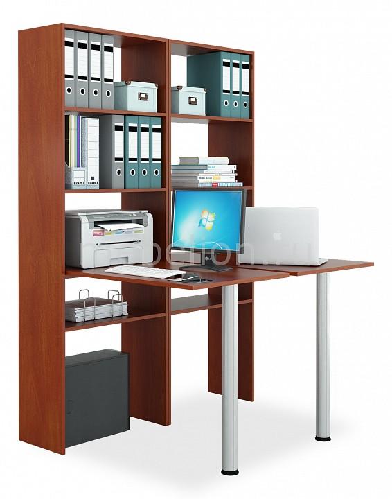 Стол компьютерный МФ Мастер Рикс-4646 угловой компьютерный стол с надстройкой и полками мф мастер рикс 4 рикс 5