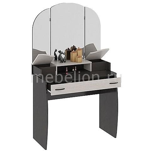 Стол туалетный Мебель Трия София Т3 венге цаво/дуб белфорт тумбочка мебель трия прикроватная токио пм 131 03 см дуб белфорт венге цаво