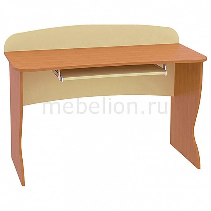 Стол компьютерный Ника 431 вишня/бежевый mebelion.ru 2310.000
