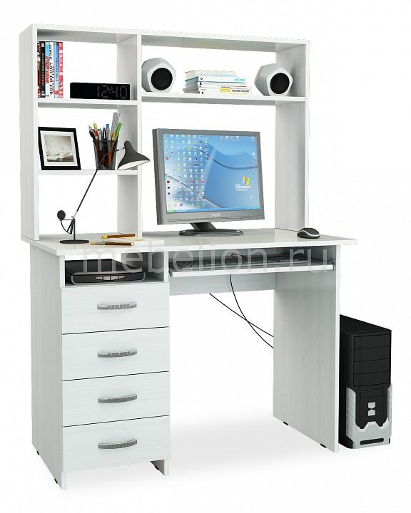 Стол компьютерный МФ Мастер Милан-3 с надставкой