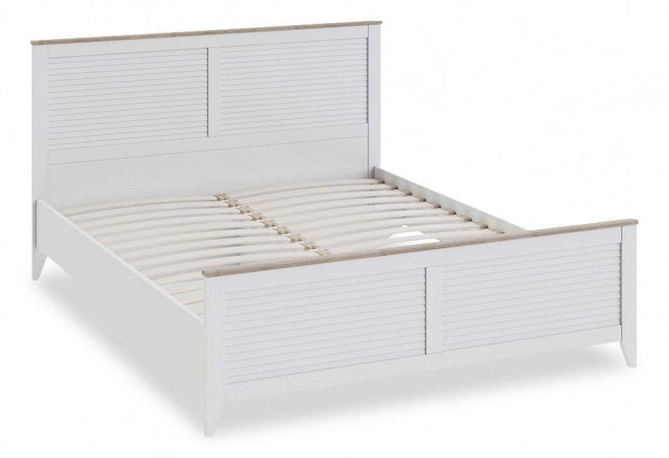 Кровать двуспальная Мебель Трия Ривьера СМ 241.01.001