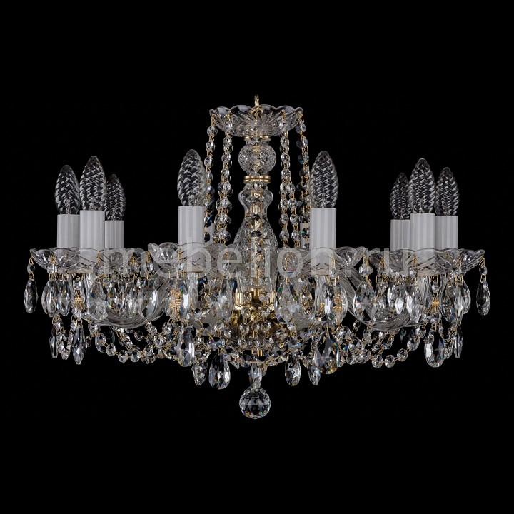 Подвесная люстра Bohemia Ivele Crystal 1402/10/195/G 1402