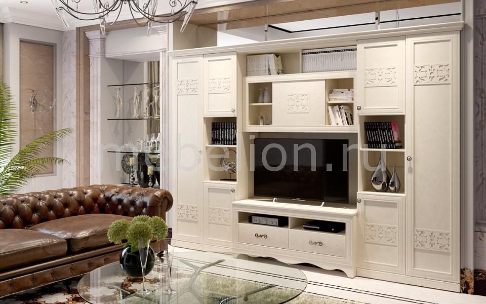 Стенка для гостиной Мебель Трия Саванна ГН-234.003 мебель трия тетрис гн 154 003