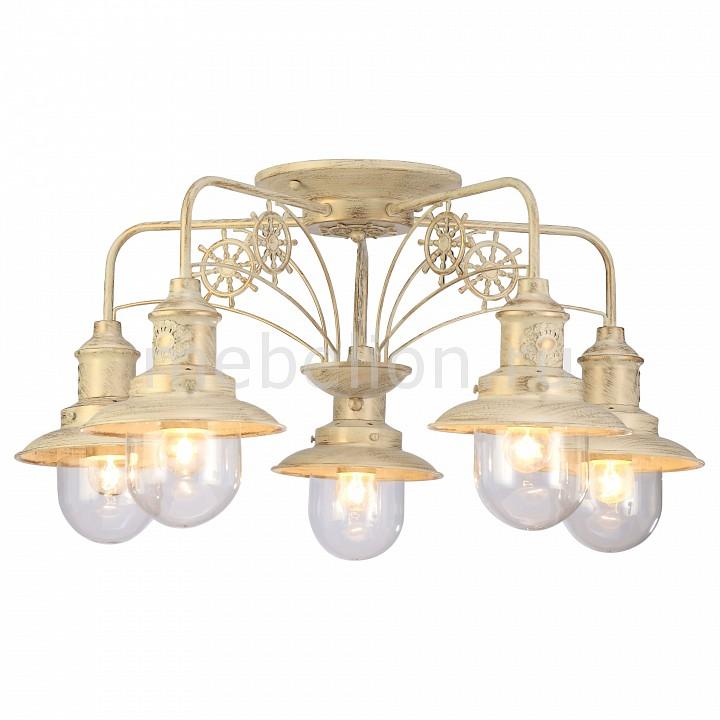 Купить Потолочная люстра Sailor A4524PL-5WG, Arte Lamp, Италия