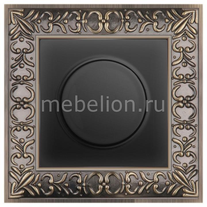 Диммера Werkel Antik (Черный матовый) WL08-AUDIOx4 +WL08-DM600 акустическая розетка werkel черный матовый wl08 audiox4