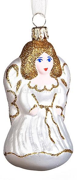 Елочная игрушка (8 см) Ангелочек 860-062