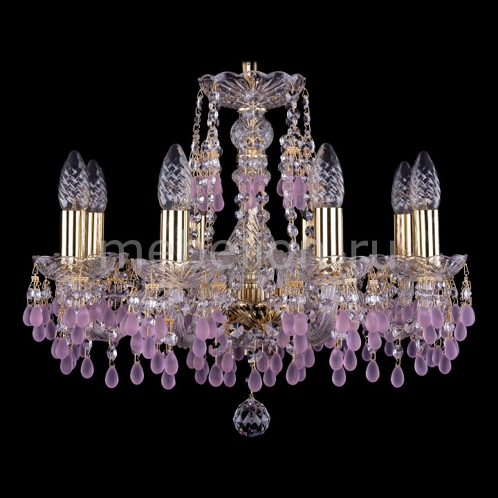 Подвесная люстра Bohemia Ivele Crystal 1410/8/160/G/V7010 1410