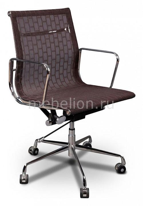 Кресло компьютерное Бюрократ Бюрократ CH-996-low темно-коричневое кресло компьютерное бюрократ бюрократ ch 993 low светло коричневое