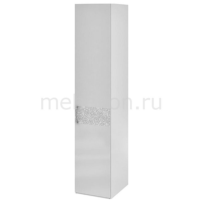 Шкаф для белья Амели СМ-193.07.001 R белый глянец