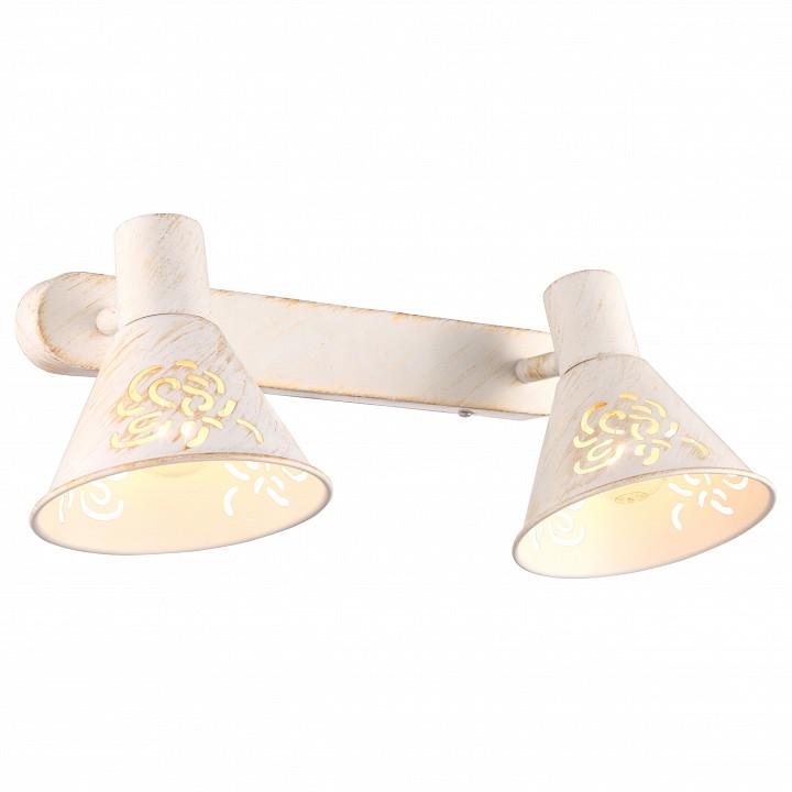 Спот Arte Lamp Cono A5218AP-2WG arte lamp люстра потолочная arte lamp torta 2 лампы белый с золотом a7121pl 2wg
