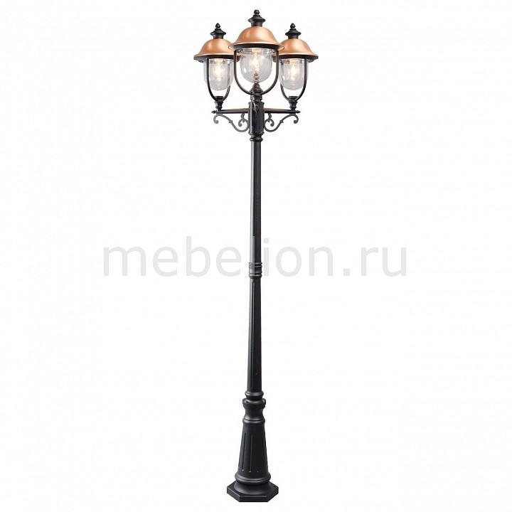Фонарный столб MW-Light Дубай 805040702 светильник на штанге mw light дубай 805020101
