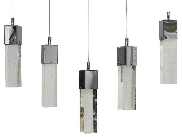 Подвесной светильник Kink Light Аква 6110-5AS.LED