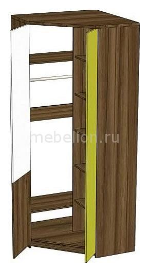 Шкаф платяной Модекс 505.090 ноче марино/белый/хаки
