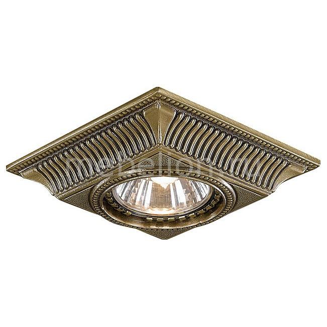 Встраиваемый светильник Reccagni Angelo SPOT 1084 BRONZO 1084