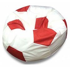 Кресло-мешок Бело-красный