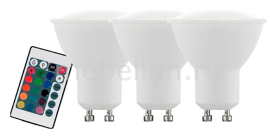Лампа светодиодная диммируемая с пультом ДУ RGBW Valuepack GU10 4Вт 3000K 10687