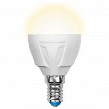 Лампа светодиодная E14 265В 7Вт 3000K LED-G45-7W/WW/E14/FR PLP01WH