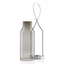 Подсвечник Umbra (7.2х28 см) Дымчатое стекло 571343