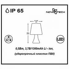 Садовая фигура Novotech 357342 Conte