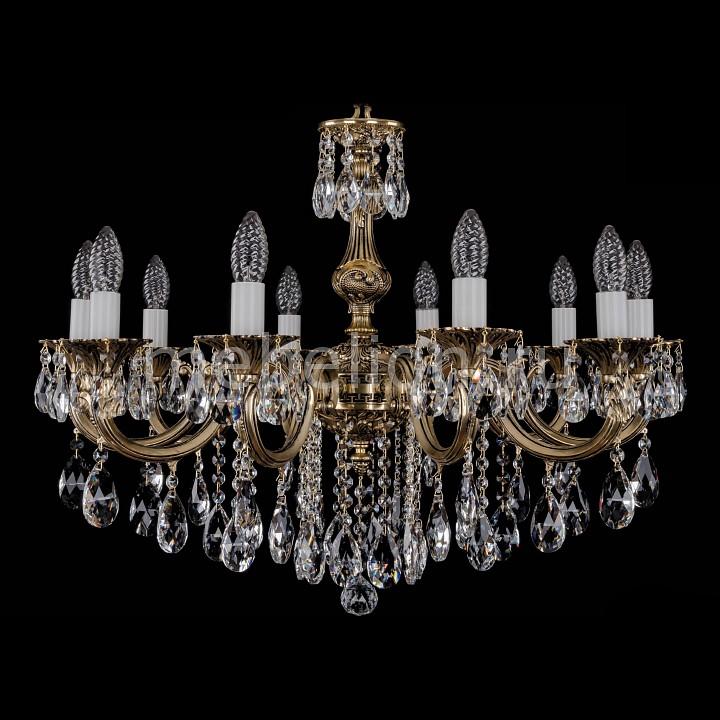 Подвесная люстра Bohemia Ivele Crystal 1702/10/B/GB 1702