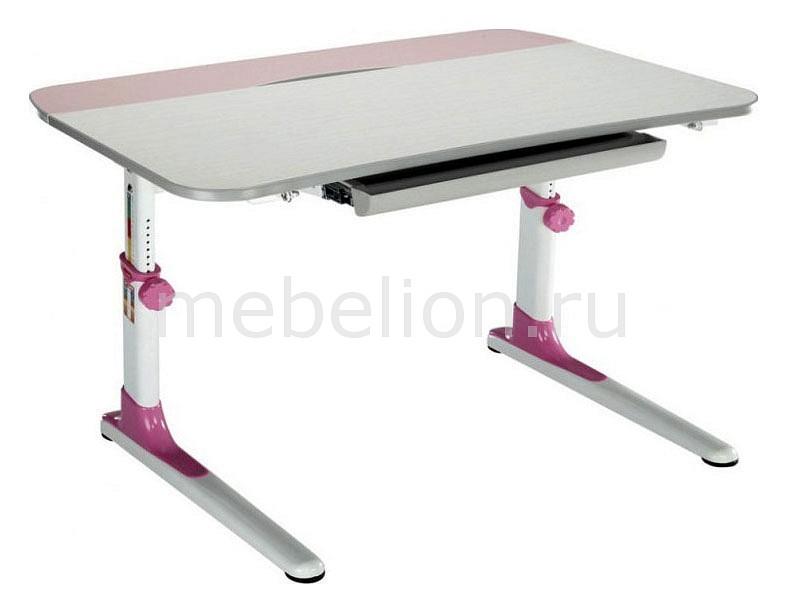Парта Бюрократ Conductor-08 белый/розовый