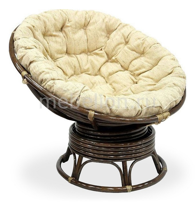Кресло-качалка Экодизайн Papasan 23/01В Б white rattan sofa purple cushions garden outdoor patio sofa rattan furniture swing pool table chair rattan sofa set