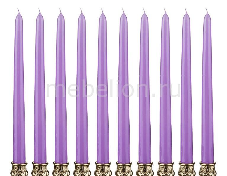 Набор из 10 свечей декоративных 348-373