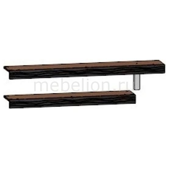 Полки для стеллажа Джордан 6-8112 венге mebelion.ru 1632.000