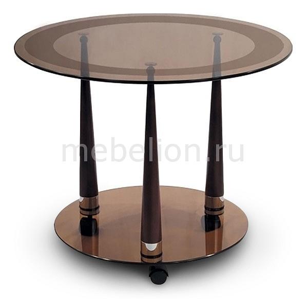 Стол журнальный Мебелик Квартет 13 стол журнальный мебелик квартет 13 махагон тонированное