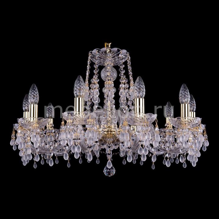 Подвесная люстра Bohemia Ivele Crystal 1410/10/240/G/V0300 1410
