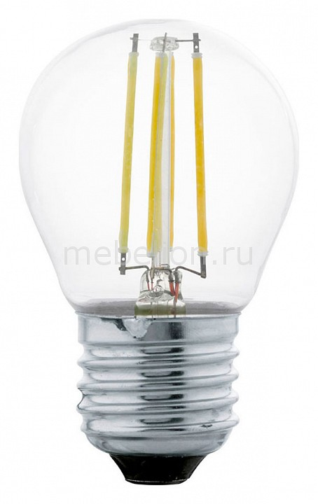 Лампа светодиодная Eglo G45 E27 4Вт 2700K 11498