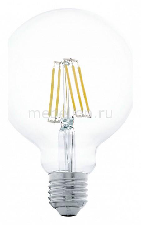 Лампа светодиодная Eglo G95 E27 6Вт 2700K 11503 лампа светодиодная eglo g95 e27 4вт 2700k 11502