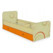 Кровать детская Любимый Дом Фруттис 503.020 желтый/лайм/манго