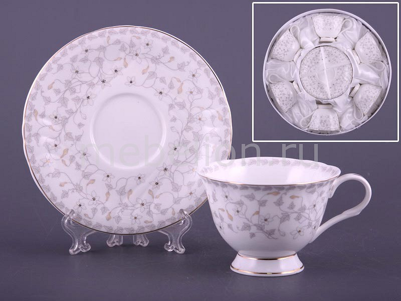 Чайный набор Porcelain manufacturing factory Вивьен 264-201 rg512 g32361 201