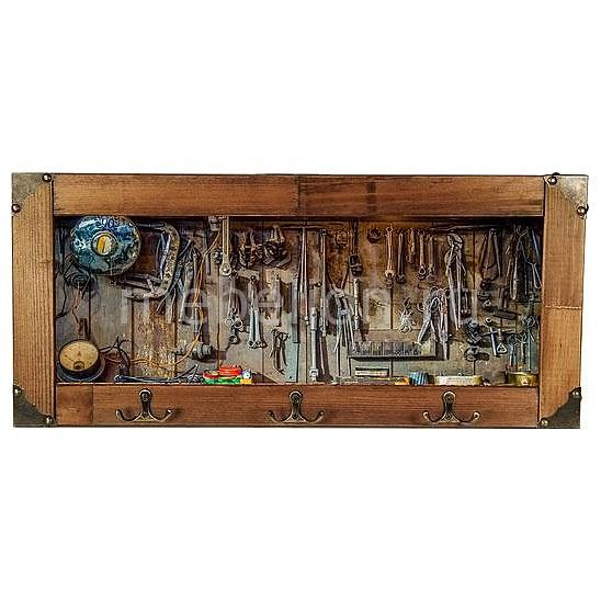 Настенная вешалка (52х23 см) Инструменты 314-15