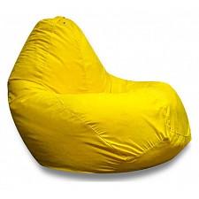 Кресло-мешок Желтая замша II