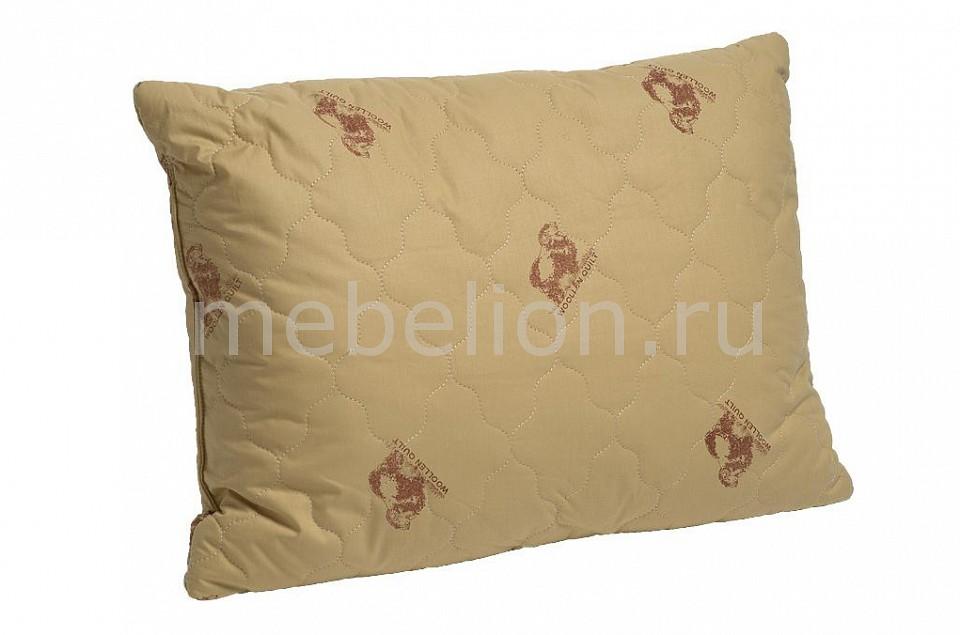Подушка Лежебока (50х68 см) ОВЕЧКА одеяло евростандарт лежебока овечка