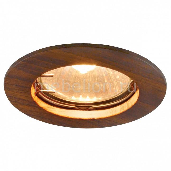Комплект из 3 встраиваемых светильников Arte Lamp Wood A5451PL-3BR europe japanese original wood pendent lamp designer creative dining room bedside bar decoration lamp a185