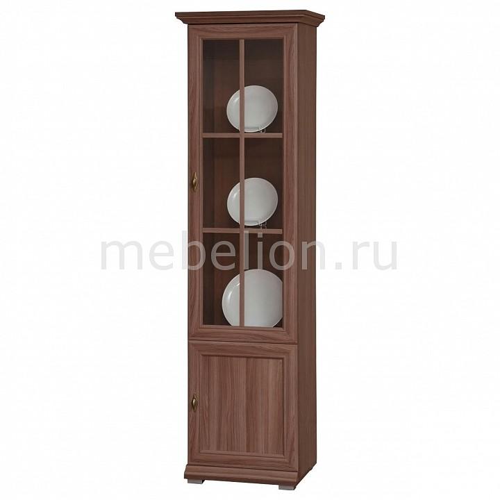Шкаф-витрина Тифани-8 ясень шимо темный